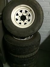 Sunraysia wheels and tyres x4 Narre Warren Casey Area Preview