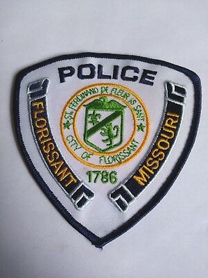"Florissant Missouri, Police Patch -  4""/ Retired/  -  For Collector or Display -"