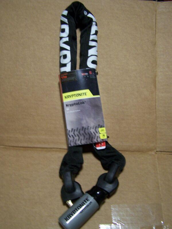 Kryptonite 995 KryptoLok Series 2 Chain Lock Keyed 9.5mm x 95cm Talon Deadbolt