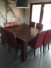 8 seater dining table square Karalee Ipswich City Preview
