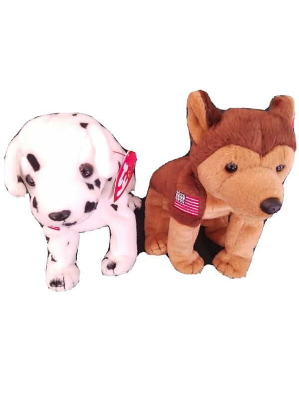 Courage and Rescue TY Beanie Babies