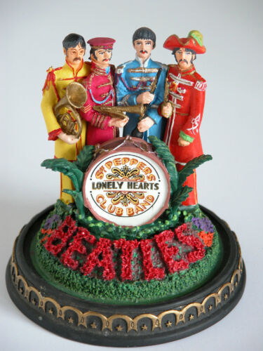 Beatles Sgt Peppers Lonely Hearts Club Band Musical Glass Dome Never Displayed