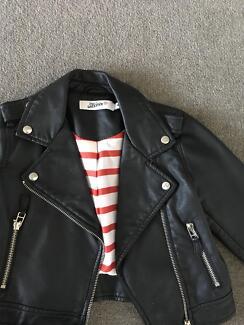 Kids Jean Paul Gauliter Leather Jacket