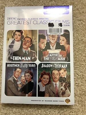 The Thin Man Collection 4-DVD Set TCM Turner Classic Movies Greatest Films