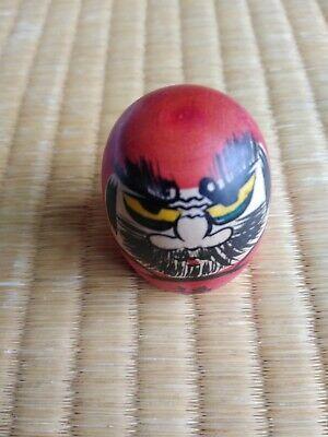 伝統小芥子 TRADITIONAL KOKESHI VINTAGE / DHARMA / DARUMA LUCKY CHARM Handmade