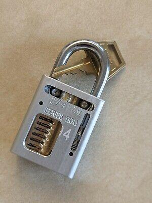 American Lock 1100 Series Cutaway Padlock