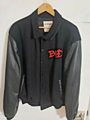 Michael Jackson Bad World Tour Jacket Crew Only 1988 XXXL Original Authentic New