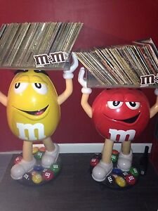 M&M collectible Giant Characters