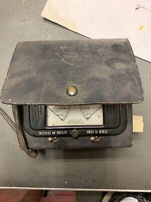 Vintage Triplett Model 2002 Railroad Test Meter