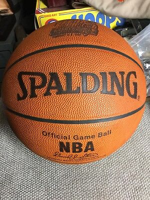ea7c4230c49 Super Rare 1998 NBA All-Star Game Used Basketball Michael Jordan Kobe Bryant