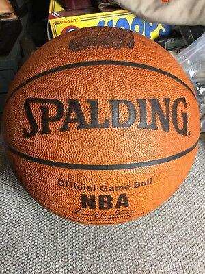 6ee1444e4 Super Rare 1998 NBA All-Star Game Used Basketball Michael Jordan Kobe Bryant
