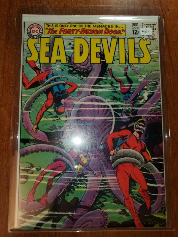 Sea Devils #21 VF