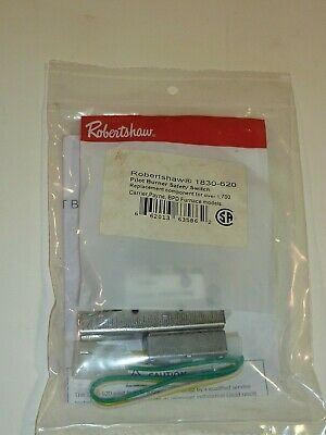Robertshaw 1830-620 Three Wire Pilot Burner Safety Switch Oem New Free Shipping