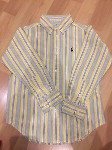 Boys Authentic Ralph Lauren Dress Shirt - Size 5 Abbotsbury Fairfield Area Preview