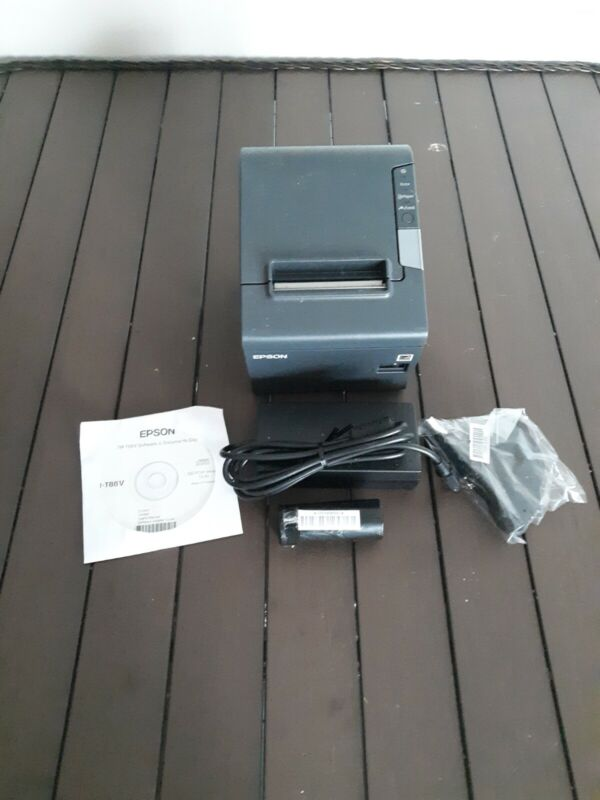 EPSON TM-T88V POS RECEIPT PRINTER 9-PIN SERIAL & USB INTERFACE