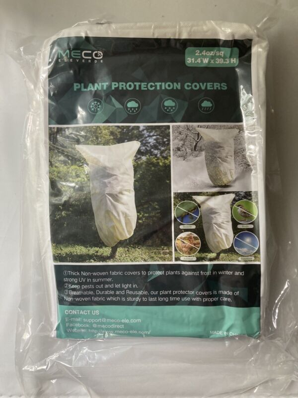 MECO Plant Protection Covers 31.4W x 39.3H Set of 2