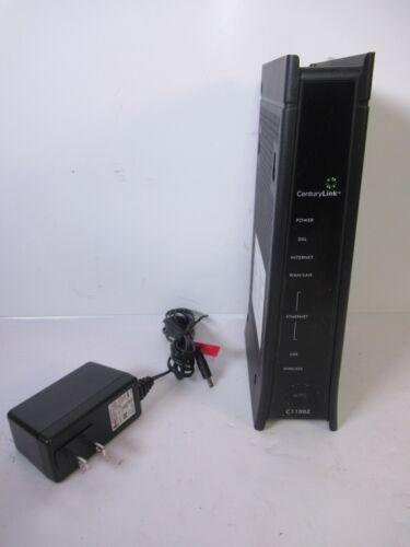 CenturyLink Zyxel C1100Z 802.11n WiFi Wireless Modem with Router
