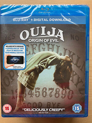 Ouija: Origin of Evil 2016 Demonic Satanic Horror Sequel UK Blu-ray BNIB - Halloween Sequel 2017