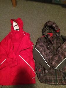MeV rain coat and Monster spring coat