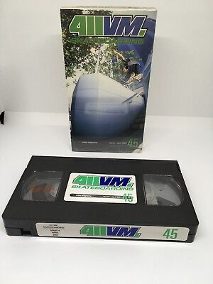 411VM 'Issue 45' March/April 2001 VHS NTSC Hirata Tim Tim Vallely Kampfen