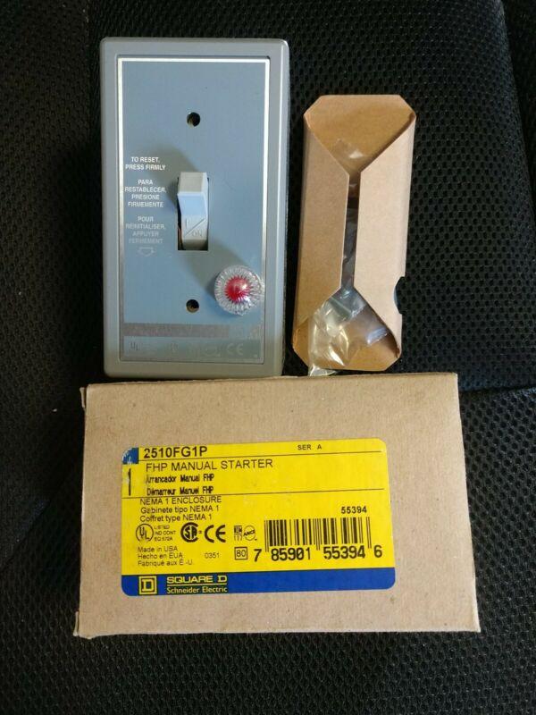 Square D Model 2510fg1p FHP Man Starter