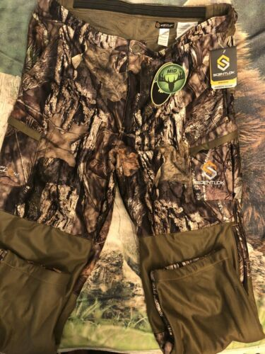 NEW ScentLok Mens Maverick Hunting Pant Mossy Oak Country 83529 Size 2XL - $59.00