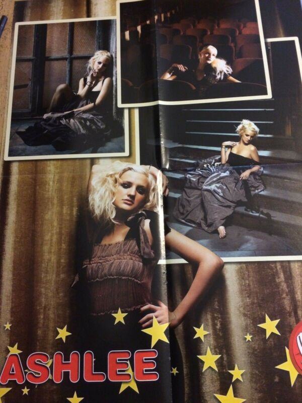 Ashlee Simpson, The Click Five, Double Four Page Foldout Poster