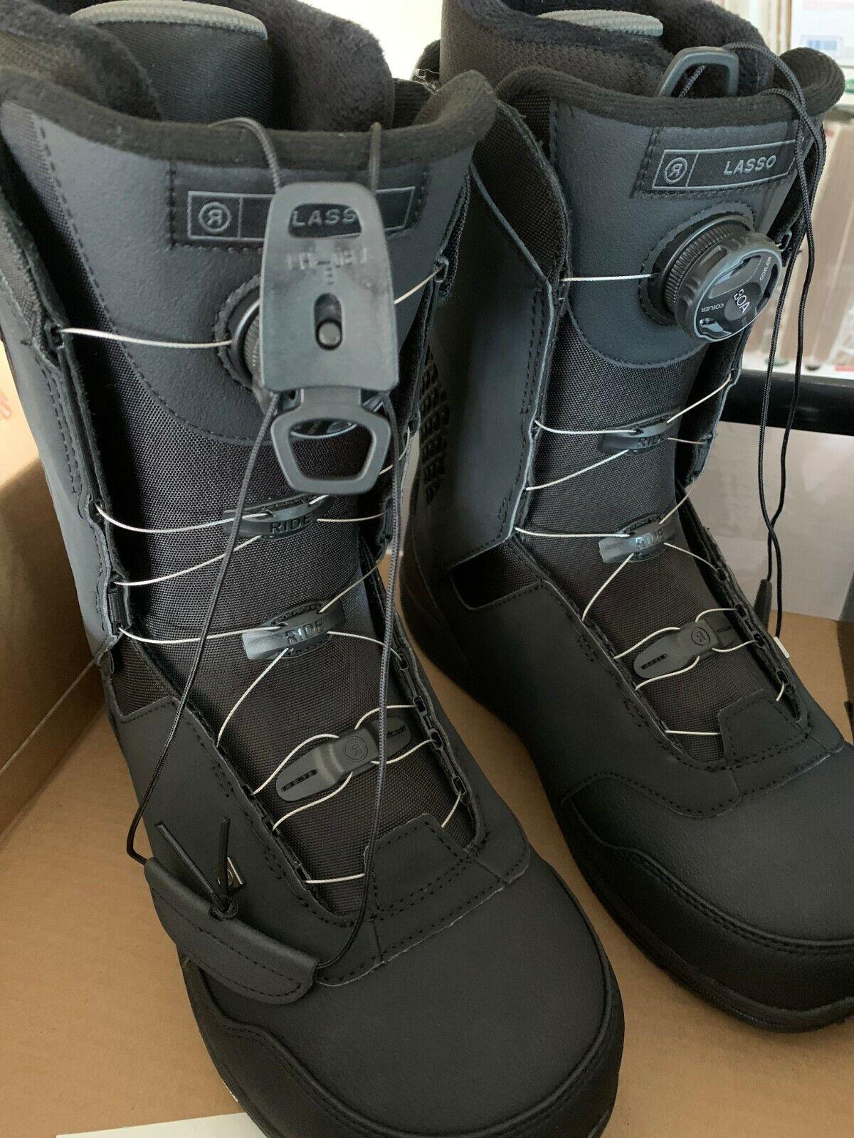 RIDE LASSON Snowboard Boots, NEW  SIZE 12