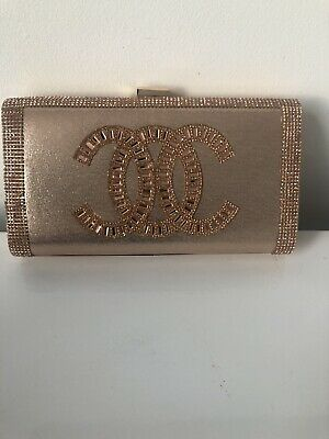 Women glitter shimmer clutch bag ladies wedding party prom glam wedding purse   Glam Wedding Clutch