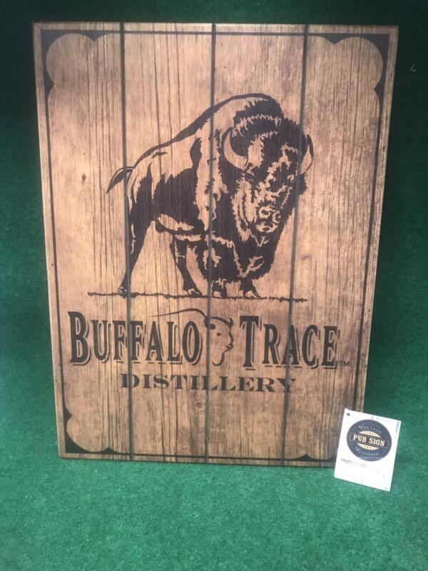 Buffalo Trace Distillery wooden man cave decor