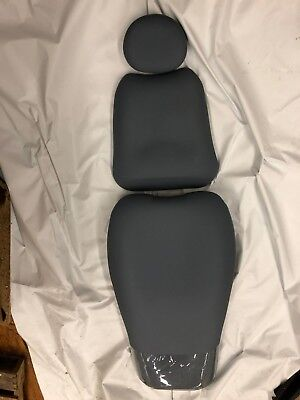Pelton Crane Spirit 3004 Blue Fog Ultraleather Dental Chair Upholstery