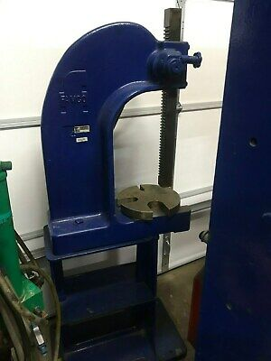 Famco Press Number 4 Arbor Press 5 Ton Capacity On Factory Base
