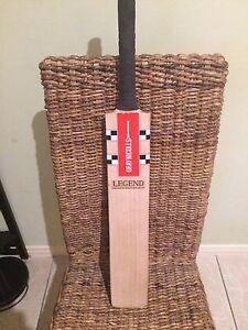 Gray Nicolls Legend stickered cricket bat Bridgeman Downs Brisbane North East Preview