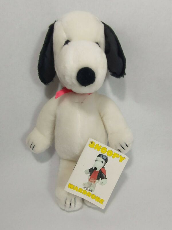 Vintage 1968 Snoopy Plush Stuffed Animal Dog Peanuts United Feature Syndicate