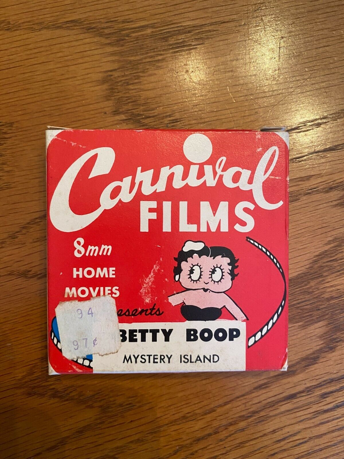 8MM Home Movies - Betty Boop - Mystery Island - BB3 - $0.99