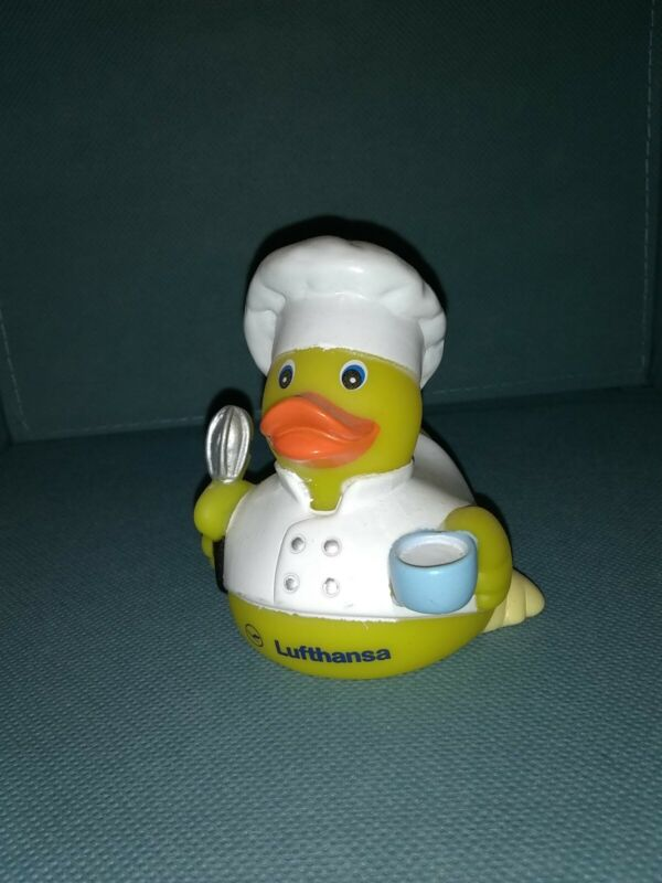 Lufthansa Airlines Rare Chef Rubber Duck Embassy Open House Edition
