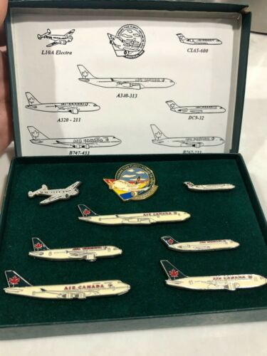 Air Canada Dream Takes Flight pin set