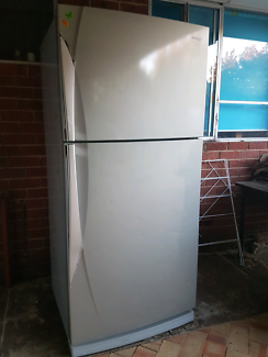 Stainless steel full family size fridge/freezer,works perfect