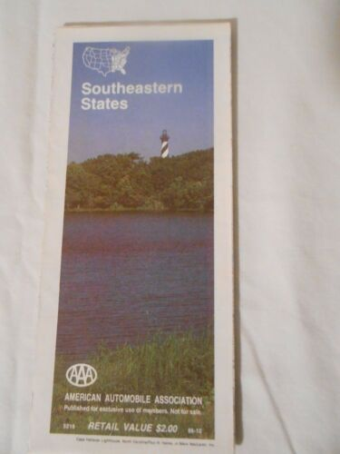 AAA Southeastern States  1986   free shipping
