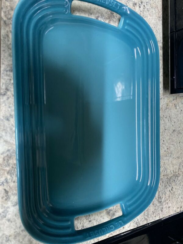 Le Creuset Teal Tray Small