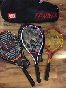 Wilson Tennis Bag & Rackets