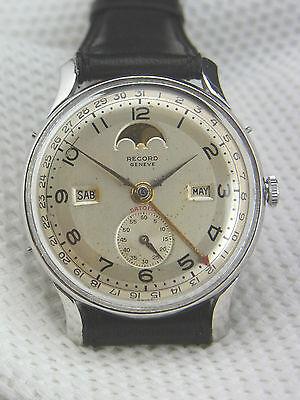 Armbanduhr Record Genf Datofix 107C