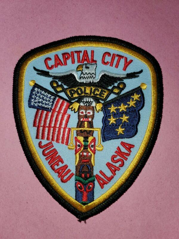 Alaska Juneau Police Patch