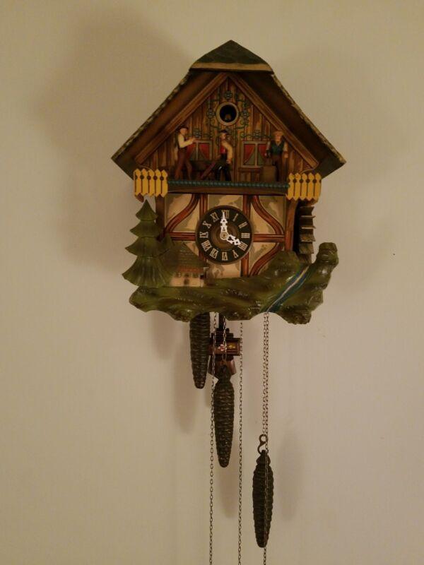 vintage west germany cuckoo clock by E. Smeckenbecker