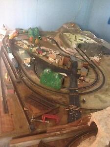MODEL TRAIN HO LAYOUT 4.3 mtr X 1,5 mtr MAKE A OFFER Salt Ash Port Stephens Area Preview