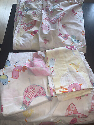 pottery barn girls  twin sheet set with Duvet