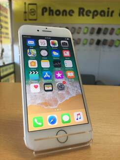 AS NEW IPHONE 7 128GB GOLD WITH WARRANTY
