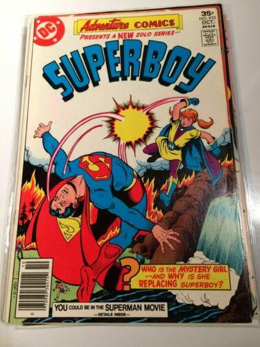 Adventure Comics 453 Superboy Aqualad