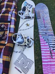 Dc snowboard and bindings Sylvania Sutherland Area Preview