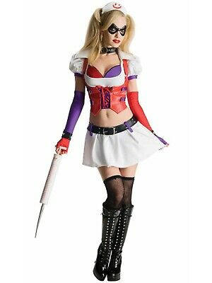 Secret Wishes Sexy Harley Quinn Asylum Costume from Batman Arkham City - Harley Quinn Costume Arkham